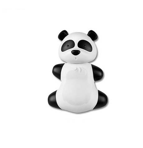"""Тримач дитячої щітки """"Панда"""" Funny Animals Miradent, фото 2"""