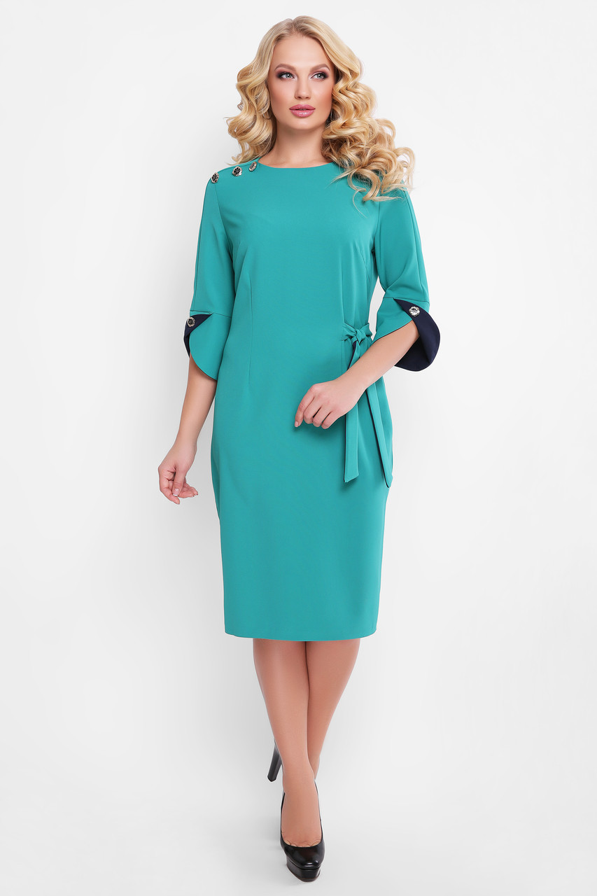 Ошатне ділове плаття з 52 по 58 розмір