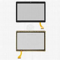 """Сенсорний екран для планшету Tablet PC 10.1"""", Assistant AP-107G, 166x236mm, 50pin, тип 2, чорний, #MJK-0675 FPC"""