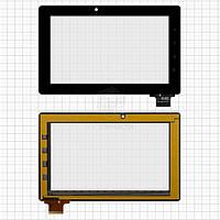 """Сенсорний екран для планшету Tablet PC 7"""", Bliss Pad T7012, чорний, 183x114mm, 61 pin, #300-N3690B-A00-V1.0"""