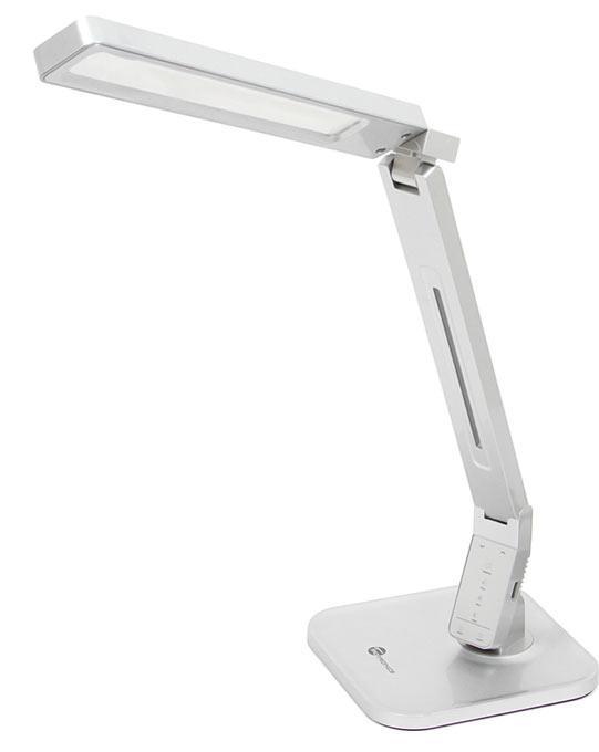 Лампа TaoTronics TT-DL07, настільна, безтіньова, срібляста, EU