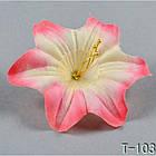 Гибискус  NТ 026 - Т 103 (100 шт./ уп.) Искусственные цветы оптом, фото 3