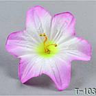 Гибискус  NТ 026 - Т 103 (100 шт./ уп.) Искусственные цветы оптом, фото 4