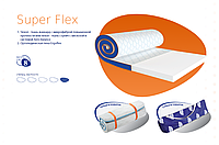 Матрас топпер-футон Super Flex 8см 80*190 ЕММ (Супер Флекс), фото 1