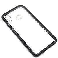Накладка бампер магнит Factory Metal Frame для Huawei P Smart Plus / Nova 3i, Black