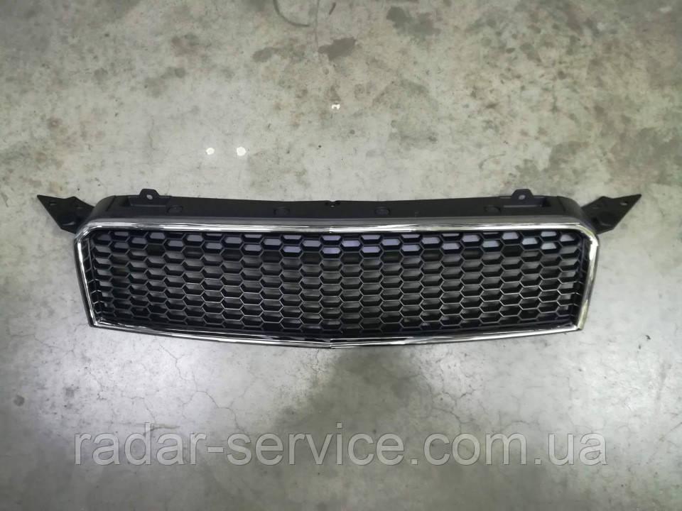 Решетка радиатора верхняя хетчбек, Vida Aveo T255, sf48y0-8401010,