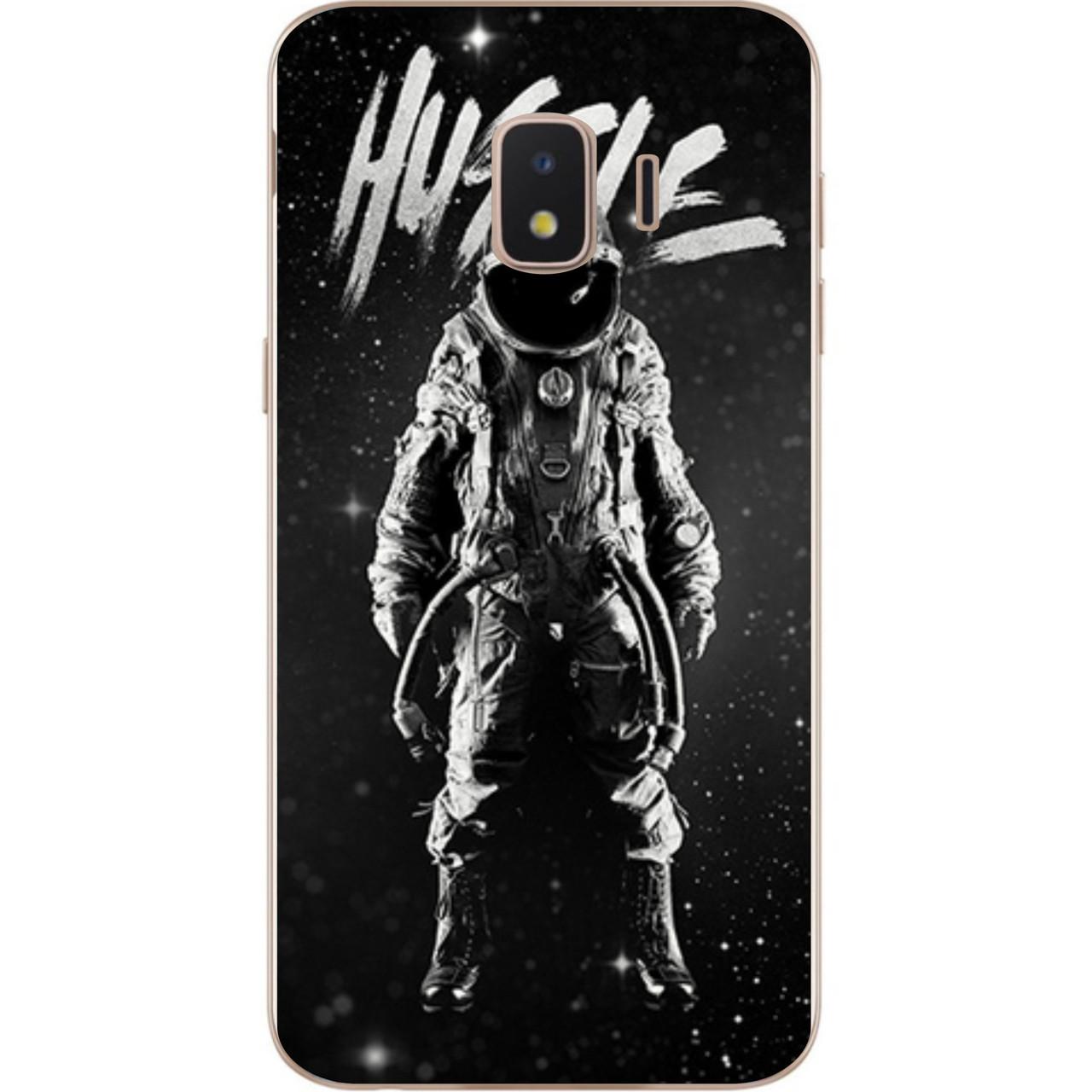 Силіконовий чохол з малюнком для Samsung J2 Core Galaxy 2018 з картинкою Космонавт hustle