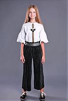 Детская одежда Моне, белая блузка р-ры 140,164