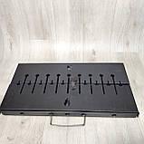 Мангал Огонёк раскладной в чемодан 2 мм с ножками на 8 шампуров Харьков, фото 2