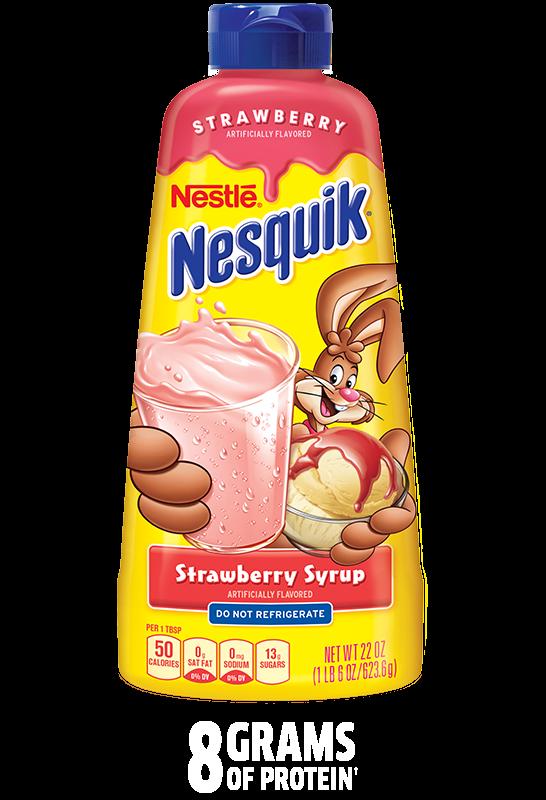 Клубничный сироп Nesquik