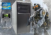 Игровой ПК Intel Core i5 3570 4 ядра x 3.8GHz, GTX 1050 2Gb, DDR3 8Gb