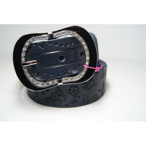 Ремень женский кожаный (черный) Andi 1171_026