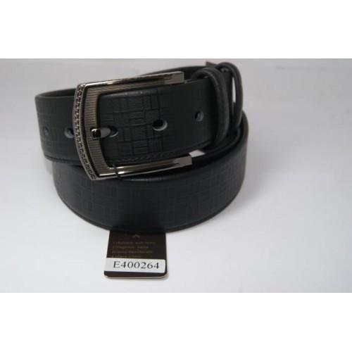 Ремень мужской кожаный (черный)  Andi 153984_047