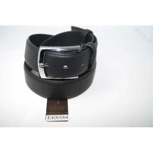 Ремень мужской кожаный (черный)  Andi 153984_059