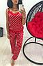 Женская пижама в горох (Мод.0855/1)