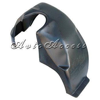 Підкрилки Daewoo Lanos (ЗАЗ Sens) комплект/4шт (з бортиком, під саморізи)