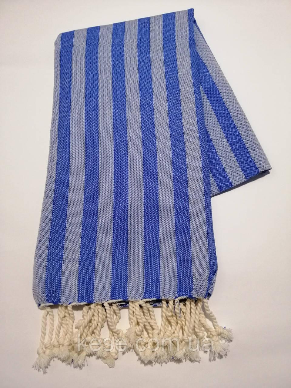 Полотенце для хамама *Milford* (синий)