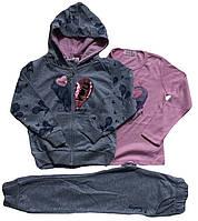 Костюмы для девочек оптом, размеры 98-128, S&D, арт. CH-5210, фото 1