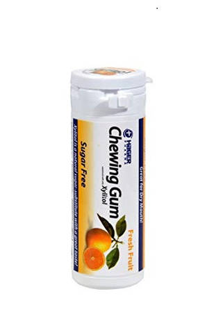 """Жувальна гумка з ксилітом  Xylitol Chewing Gum """"Свіжі фрукти"""" (30 шт/уп) Miradent, фото 2"""