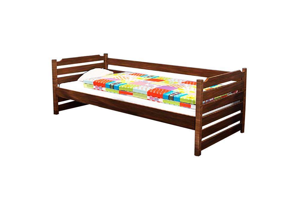 Ліжко дитяче з натурального дерева 80х190 Котигорошко Дрімка