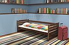 Ліжко дитяче з натурального дерева 80х190 Котигорошко Дрімка, фото 6