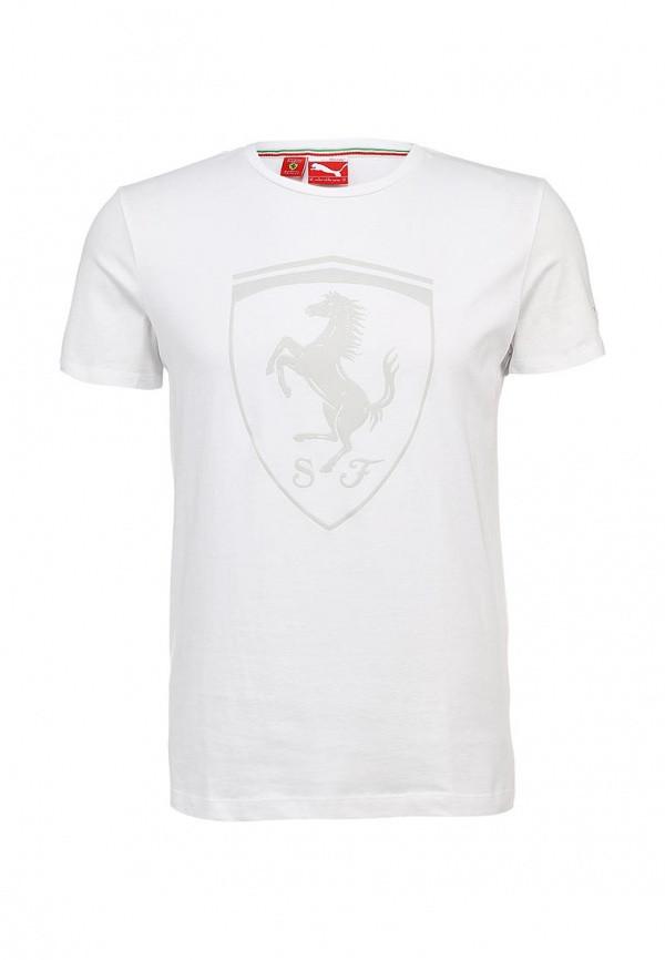 Футболка puma Ferrari Shield Tee(белый)