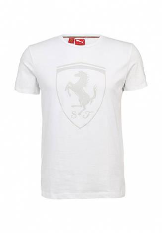 Футболка puma Ferrari Shield Tee(белый), фото 2