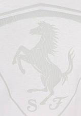Футболка puma Ferrari Shield Tee(белый), фото 3
