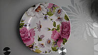 Тарелка фарфоровая десертная