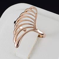 Прелестное кольцо с золотым покрытием 0513