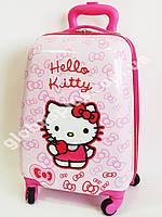 Детский чемодан дорожный Hello Kitty-3 на четырех колесах 520347