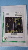 Семена баклажана Фабина F1 (Clause/ АГРОПАК+) 100 сем — ранний (70-75 дн), фиолетовый,удлиненно-цилиндрический