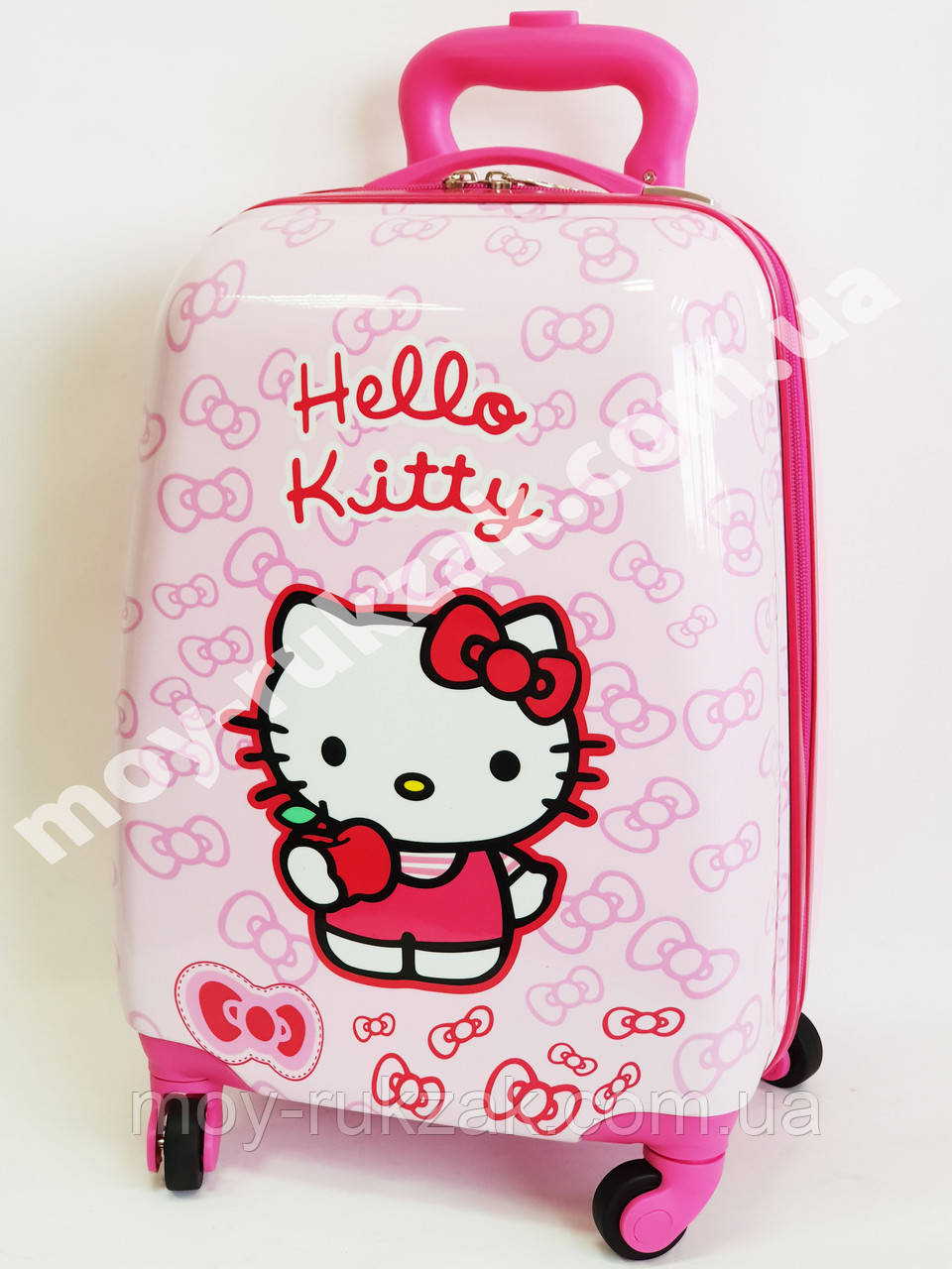 Детский чемодан дорожный Hello Kitty-3 на колесах