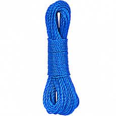 Верёвка хозяйственная цветная 2,5 мм*15 м            14656-1, фото 3