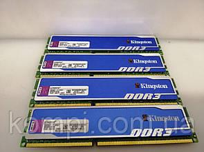 Kingston DDR3 8Gb Kit (4x2Gb) PC3-12800 / 1600 mhz б/у