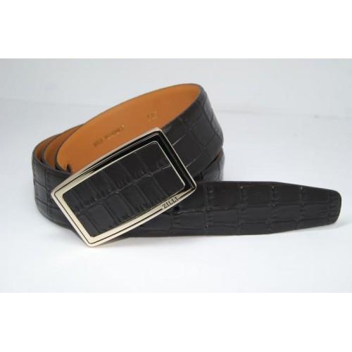 Ремень мужской кожаный (черный) 155777_032