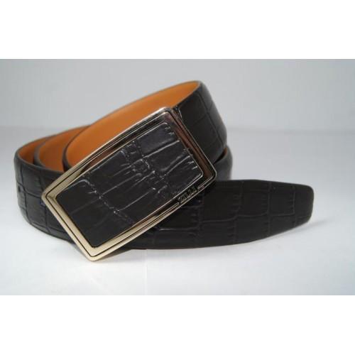 Ремень мужской кожаный (черный) 155777_042