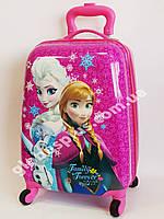 Детский чемодан дорожный Холодное Сердце-3, Frozen,  на четырех колесах 520276