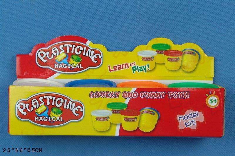 Набір для творчості пластилін 9072 (96шт/2) 4 кольори, в кор. 25*6*5,5 см