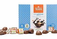 Конфеты шоколадные без сахара и пальмового масла Trapa 142г Испания