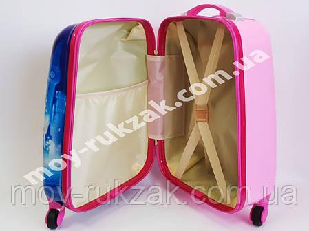 Детский чемодан дорожный Frozen-6 Холодное сердце, фото 2