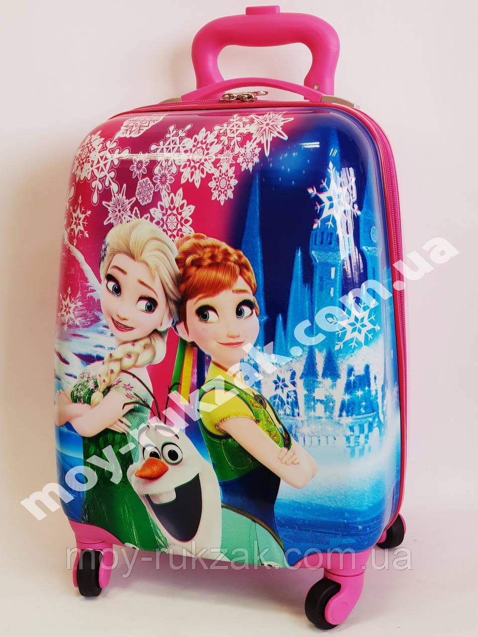 Детский чемодан дорожный Frozen-6 Холодное сердце