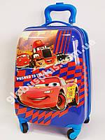 Детский чемодан дорожный Cars-4 на четырех колесах 520335