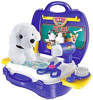 Игровой набор парикмахерская для животных Bowa в чемодане 8357