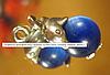 Подвеска дельфин под серебро кулон типа  камень оберег, фото 2