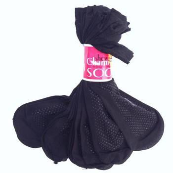 Носки капроновые с тормозами Show Charm ( 10 пар /уп) Sin-301