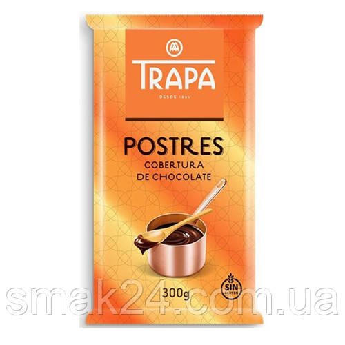 Шоколад черный без глютена Postres Trapa Испания 300г