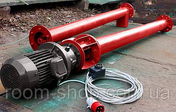 Шнековый транспортер (питатель, шнек) диаметром 133 мм., длиною 6 метров, фото 2