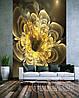 """Фото шпалери """"Жовтий 3D квітка"""" - Будь-який розмір! Читаємо опис!"""