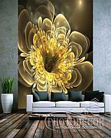 """Фото шпалери """"Жовтий 3D квітка"""" - Будь-який розмір! Читаємо опис!, фото 1"""